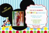 Mickey Mouse Clubhouse Birthday Invites Mickey Mouse Clubhouse Birthday Party Invitation