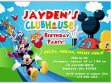 Mickey Mouse Clubhouse Birthday Invites Mickey Mouse Clubhouse Birthday Party Invitations Disney