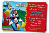 Mickey Mouse Clubhouse Birthday Invites Mickey Mouse Clubhouse Invitations Printable Personalized