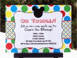 Mickey Mouse Clubhouse Birthday Invites Mickey Mouse Clubhouse Printable Invitation Party