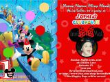 Mickey Mouse Clubhouse Custom Birthday Invitations Free Printable Mickey Mouse 1st Birthday Invitations