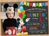 Mickey Mouse Clubhouse Custom Birthday Invitations Mickey Mouse Clubhouse Invitations for Special Birthday
