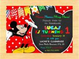 Mickey Mouse Clubhouse First Birthday Invitations Mickey Mouse Clubhouse 1st Birthday Invitations by