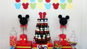 Mickey Mouse Decorations for Birthday Awesome Mickey Mouse 1st Birthday Party Ideas Margusriga