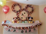 Mickey Mouse Decorations for Birthday Party Disney Mickey Mouse Birthday Party Ideas Photo 24 Of
