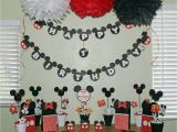 Mickey Mouse Decorations for Birthday Party Disney Party Living In A Grown Up World