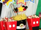 Mickey Mouse Decorations for Birthday Party Kara 39 S Party Ideas Mickey Mouse Clubhouse Birthday Party