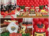 Mickey Mouse Decorations for Birthday Party Kara 39 S Party Ideas Mickey Mouse Party Planning Ideas