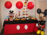Mickey Mouse Decorations for Birthday Party Mickey Mouse Birthday Party Ideas Photo 20 Of 21 Catch