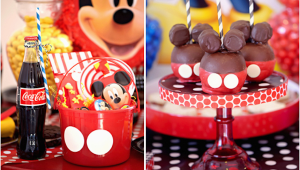Mickey Mouse Decorations for Birthday Party tons Of Mickey Mouse Party Ideas Via Karas Party Ideas