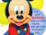 Mickey Mouse First Birthday Card Disney Mickey Mouse 1st Birthday Greeting Card Mickey
