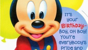 Mickey Mouse First Birthday Card Disney Mickey Mouse 1st Birthday Greeting Card Mickey