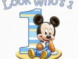 Mickey Mouse First Birthday Card Mickey Mouse Boys Birthday Shirt