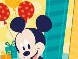 Mickey Mouse First Birthday Card Mickey Mouse Musical 1st Birthday Card Greeting Cards