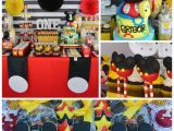 Mickey Mouse First Birthday Party Decorations 29 Magical Mickey Mouse Party Ideas Spaceships and Laser