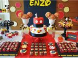 Mickey Mouse First Birthday Party Decorations Kara 39 S Party Ideas Mickey Mouse 1st Birthday Party Via