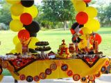 Mickey Mouse First Birthday Party Decorations Kara 39 S Party Ideas Mickey Mouse themed 1st Birthday Party