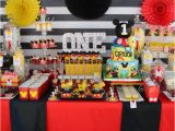 Mickey Mouse First Birthday Party Decorations Mickey Mouse 1st Birthday Party Ideas for 1st Birthday