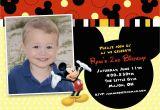 Mickey Mouse themed Birthday Invitations Mickey Mouse themed Birthday Invitations Best Party Ideas