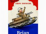 Military Birthday Cards Vintage Military Birthday Card Zazzle