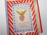 Military Birthday Cards Vintage Patriotic Military Greeting Card Do 39 S and
