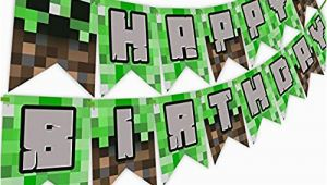 Minecraft Birthday Card Amazon Minecraft Birthday Party Amazon Com