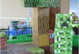 Minecraft Birthday Decoration Ideas Boy 39 S Minecraft themed 9th Birthday Party Spaceships and