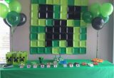 Minecraft Birthday Decoration Ideas Minecraft Birthday Party Ideas Printable Party Games