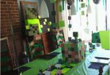Minecraft Birthday Decoration Ideas Minecraft Party Ideas Holidappy