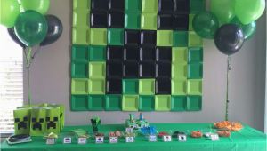 Minecraft Birthday Party Decoration Ideas Minecraft Birthday Party Ideas Printable Party Games
