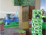 Minecraft Decoration Ideas for Birthday Boy 39 S Minecraft themed 9th Birthday Party Spaceships and