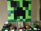 Minecraft Decoration Ideas for Birthday Domestic Femme Minecraft Birthday Party