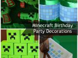 Minecraft Decoration Ideas for Birthday Minecraft Birthday Party Decorations Mom It forward