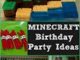 Minecraft Decoration Ideas for Birthday Minecraft Birthday Party Ideas Mom Luck