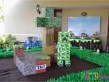 Minecraft Decoration Ideas for Birthday Minecraft Party All for the Boys