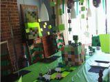Minecraft Decoration Ideas for Birthday Minecraft Party Ideas Holidappy