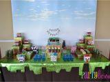 Minecraft Decoration Ideas for Birthday Partylicious events Pr Minecraft Birthday Party