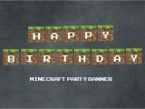 Minecraft Happy Birthday Banner Printable Free Printable Minecraft Food with there Names Pictures