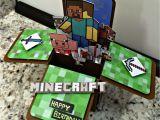 Minecraft Printable Birthday Card Minecraft Birthday Card Ken 39 S Kreations