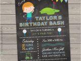 Mini Golf Birthday Invitations Golf Birthday Invitation Mini Golf Invitation Kids Golf