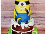 Minion Birthday Cake Decorations 10 Amazing Minion Birthday Cakes Pretty My Party Party