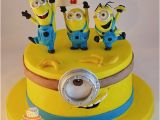 Minion Birthday Cake Decorations 17 Best Ideas About Minion Cakes On Pinterest Minion
