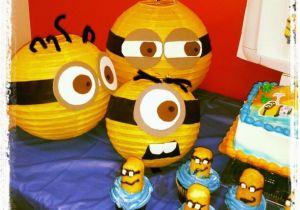 Minion Birthday Party Decoration Ideas 40 Amazing