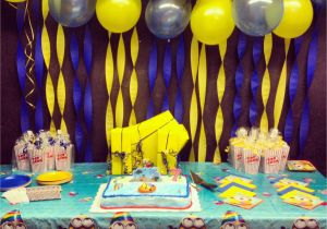 Minion Birthday Party Decoration Ideas Despicable Me Minions