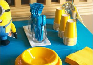 Minion Birthday Party Decoration Ideas With Free Printables