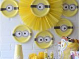 Minion Birthday Party Decoration Ideas Minion Party Ideas Crafting In the Rain