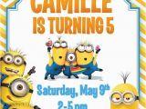 Minion Birthday Party Invites 7 Best Fiesta Minions Images On Pinterest Birthday Party