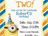 Minion Birthday Party Invites Best 25 Minion Birthday Invitations Ideas On Pinterest