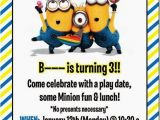 Minion Birthday Party Invites Best 25 Minion Invitation Ideas On Pinterest Diy Minion
