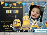 Minion Birthday Party Invites Minion Birthday Party Invitations Custom Party Invitations